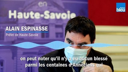 """""""C'est qui s'est passé est aussi inadmissible que lamentable"""", le préfet de Haute-Savoie"""