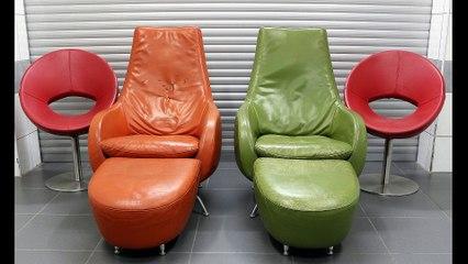 Farklı Renklerde Deri Döşeme Değişimi