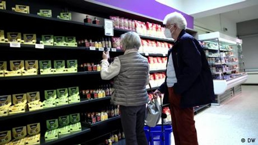 How does a 'test' supermarket work?