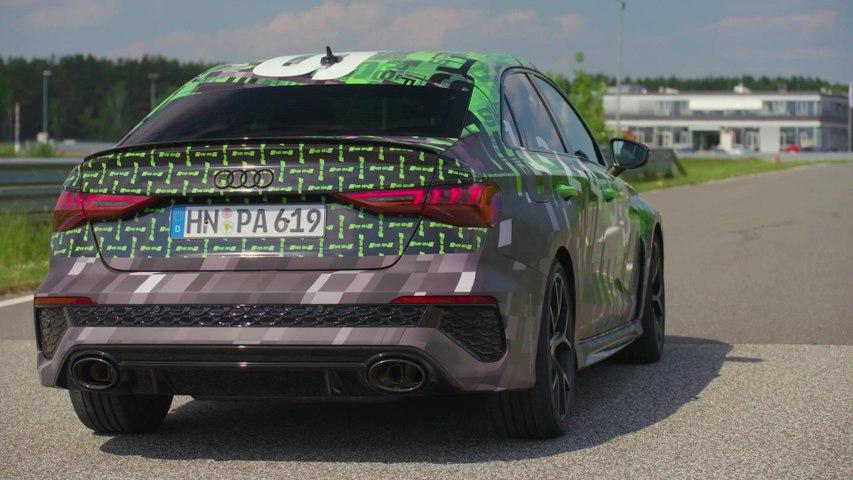 Digitale Sneak Preview des Audi RS 3 Prototyp