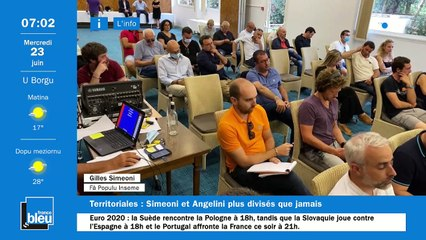 23/06/2021 - La matinale de France Bleu RCFM