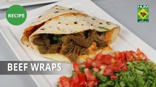 Beef Wraps Recipe | Food Diaries | Chef Zarnak Sidhwa | Fast Food