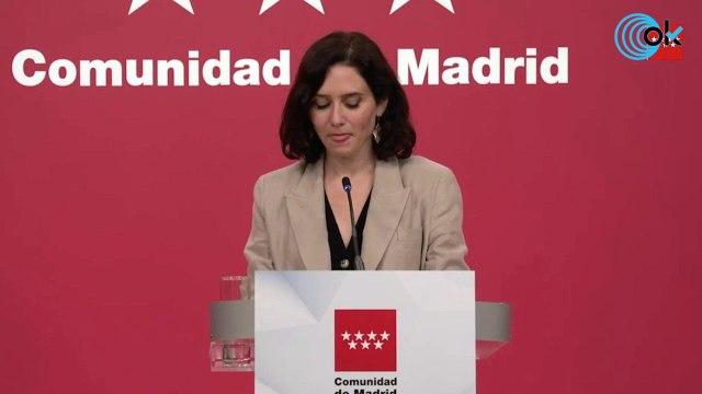"""Ayuso tras la salida de los golpistas: """"Sánchez humilla a los españoles y España entera está indignada"""""""