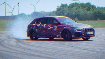 VÍDEO: Así funciona el MODO DRIFT del nuevo Audi RS 3 Sportback 2022