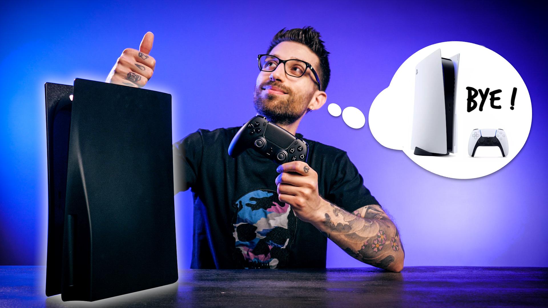 Vous rêvez d'une PS5 noire ? C'est possible !