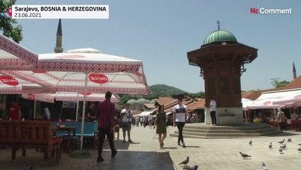 Vague de chaleur précoce sur les Balkans