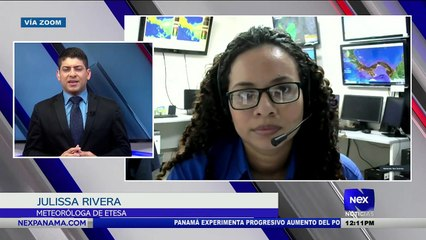 Entrevista a Julissa Rivera, sobre las condiciones del tiempo  - Nex Noticias