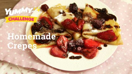 How To Make Easy Crepes   Yummy PH