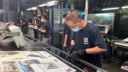 """Hong Kong : le journal pro-démocratique Apple Daily est mort, """"victime de la tyrannie de Pékin"""""""