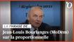 Proportionnelle: Jean-Louis Bourlanges tance les «députés de la majorité qui représentent 5% des électeurs aux régionales»