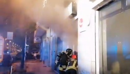 Quartu Sant'Elena (CA) - Incendio in un bar-pasticceria (24.06.21)