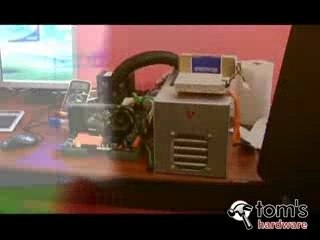 Tests d'overclocking dans les locaux de Toms Hardware France