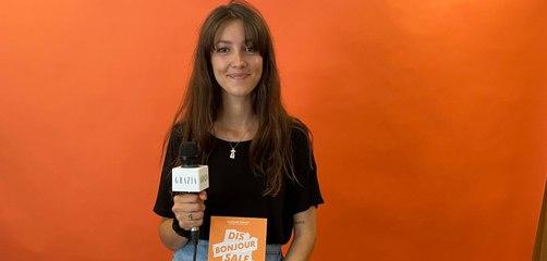 """L'acrostiche Grazia d'Emanouela Todorova, autrice du livre """"Dis bonjour sale pute !"""""""