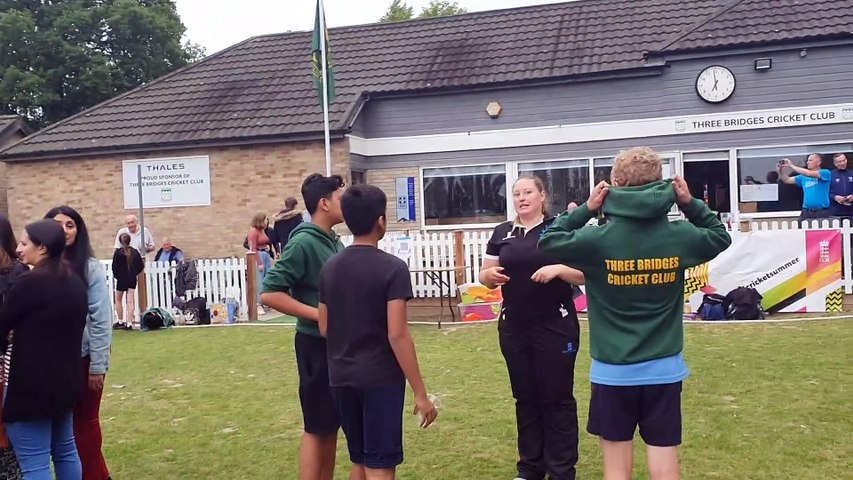 Launch of the Urban Plan for Cricket in Greater Crawley
