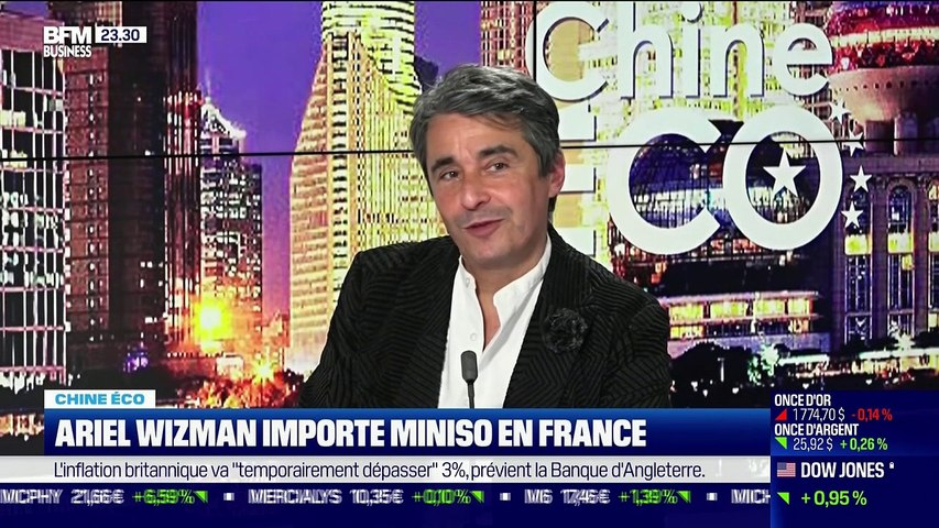 Chine Éco : Ariel Wizman importe Miniso en France - 24/06