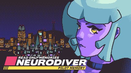 Read Only Memories : Neurodiver - Teaser Trailer #2