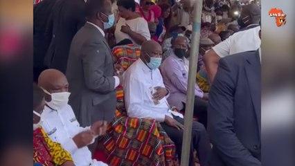 Accueil triomphal pour Laurent Gbagbo à Blouzon