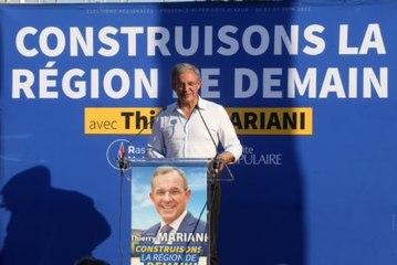 Régionales en Paca : des colistiers du candidat Debout la France appellent à voter Thierry Mariani