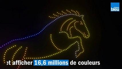 Près de Metz, IM Événementiel met au point ses premiers spectacles de drones lumineux.