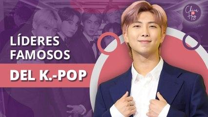 ¿Quiénes son los líderes de las bandas más famosas de K-pop?   Who are the leaders of the most famous K-pop bands?
