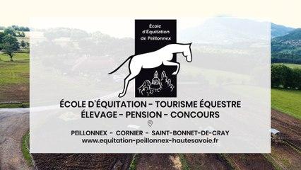 École d'équitation de Peillonnex à Peillonnex, Cornier et Saint-Bonnet-de-Cray.