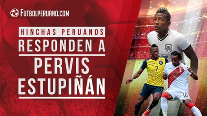 Pervis Estupiñán: hinchas peruanos responden a futbolista ecuatoriano que menospreció a Perú