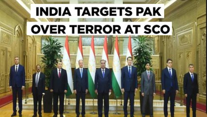 Pakistan Left Embarrassed After India Calls For Action Against L-e-T & Jaish At SCO Meet