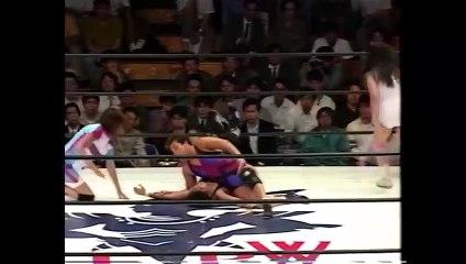 (9/24/92) Shinobu Kandori & Midori Saito vs Noriyo Tateno & Mikiko Futagami