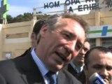 Interview de François Bayrou à Marseille
