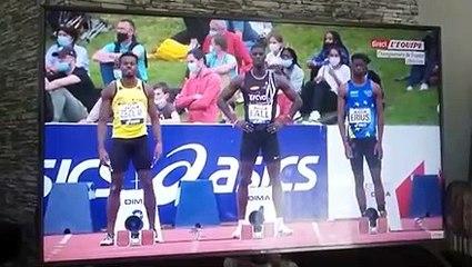 Athlétisme : Prouesse du Sénégalais Mouhamadou Ndao Fall devenu Champion de France des 100ms