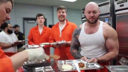 I Spent 50 Hours In Prison   # MR BEAST # mrbeast