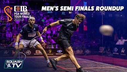 Squash: CIB PSA World Tour Finals 2020-21 - Men's Semi Finals Roundup