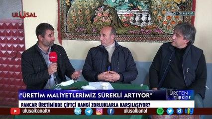 Üreten Türkiye - 27 Haziran 2021 - Sivas - Cenk Özdemir - Ulusal Kanal