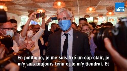 """Régionales 2021 en AURA : """"c'est la victoire d'un cap clair"""" se félicite Laurent Wauquiez"""