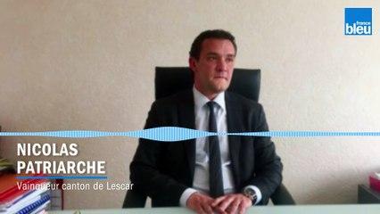 Canton de Lescar : le maire de Lons Nicolas Patriarche gagne devant l'ex-maire de Lescar Christian Laine