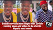 F78News: Da baby reveals new single with #davido coming soon and video to be shot in Nigeria next week #BETAwards21