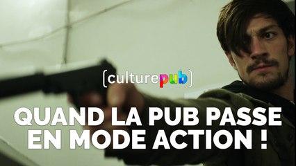Compilation Culture Pub - Quand la pub passe en mode action !