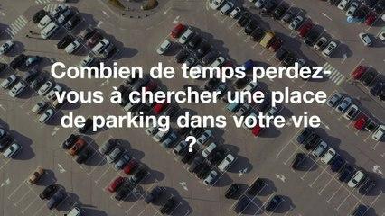 Combien de temps perdez-vous à chercher une place de parking dans une vie ?