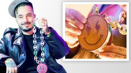 J Balvin Shows Off His Insane Jewelry Collection