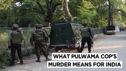 Jammu & Kashmir Policeman Murdered With Family  Pak Terrorists Behind Brutal Attack On Pulwama SPO