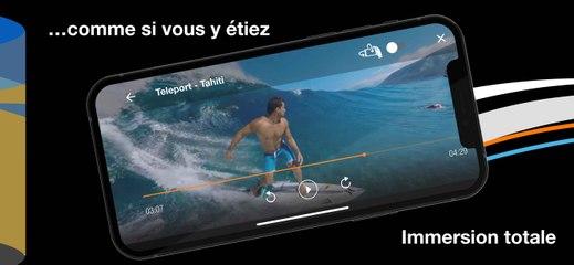 Immersive Now et TV d'Orange VR - les deux applications immersives d'Orange