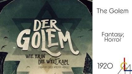 Der Golem (2015) Directed by Paul Wegener German/The origin of Frankenstein