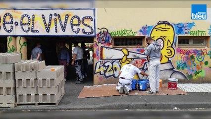 La police municipale de Perpignan mure un point de deal de la cité El Vivès