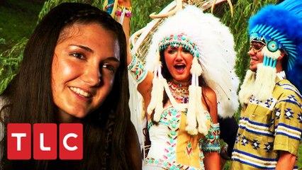 Casamento une tradições ciganas e cherokee | Meu Grande Casamento Cigano | TLC Brasil