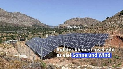Griechische Insel wird energieautark