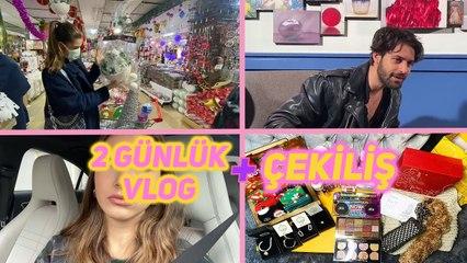 BENİMLE 2 GÜN! - Çekimimin Kamera Arkası, Yeni Yıl Alışverişi, Çekiliş | Öykü Keskin V-LOG #1