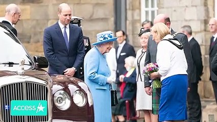 Prince William Joins Queen Elizabeth For First Trip To Scotland Since Prince Philip Died