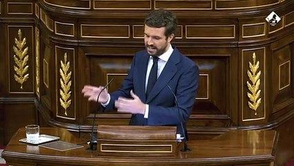 """Casado demana eleccions anticipades per evitar la """"dissolució"""" d'Espanya"""