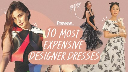 10 Most Expensive Designer Dresses Worn by Local Influencers    Preview 10   PREVIEW