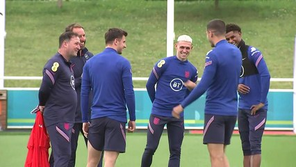England squad train at St George's Park